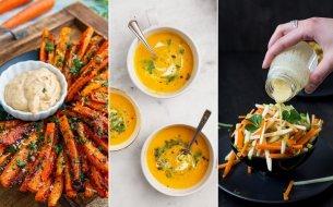 Najlepšie recepty z mrkvy: Karotková príloha, polievka či šalát!