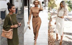 Úpletové šaty: Módny kúsok, ktorý ti nesmie chýbať v šatníku!