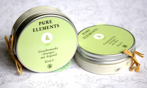 TEST: PURE ELEMENTS - pleťová maska a peeling