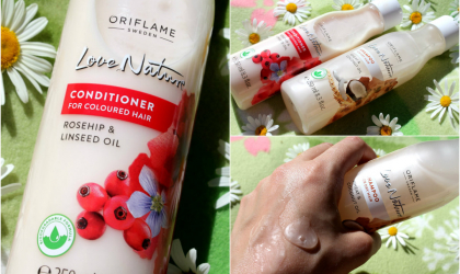 TEST:  Love Nature šampón a kondicionér Oriflame
