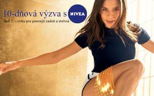 10-dňová výzva s Niveou: Cviky pre pevnejší zadok a stehná (7. deň)