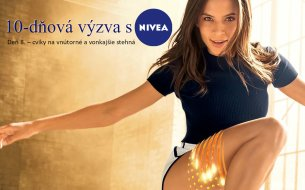 10-dňová výzva s Niveou: Cviky na vnútorné a vonkajšie stehná (8. deň)