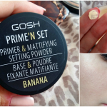 TEST: GOSH Prime and Set banánový púder