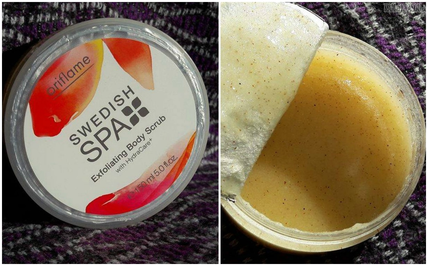 Oriflame Swedish Spa Exfoliating Body Scrub