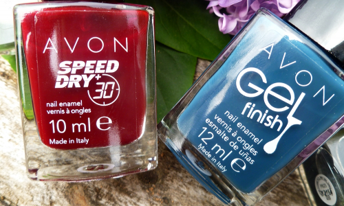 TEST: Avon - Gel Finish a Speed Dry laky na nechty