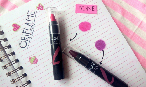 TEST: Oriflame THE ONE Express Lip Crayon