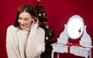 Toaletný stolík ako vianočný darček pre ženu: Rozhodne neurazí!