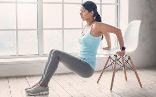 Perfektné cviky na doma so stoličkou: Spevnia každý sval na tele!