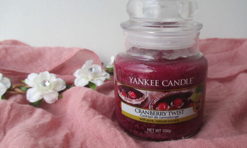 TEST: YANKEE CANDLE vôňa CRANBERRY TWIST