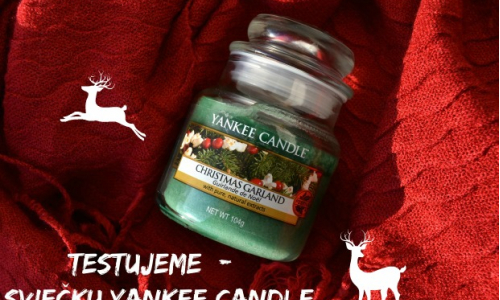 TEST: Yankee Candle - Christmas Garland