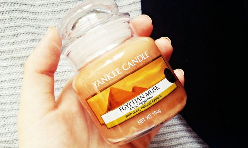 TEST: Yankee Candle – Egyptian Musk