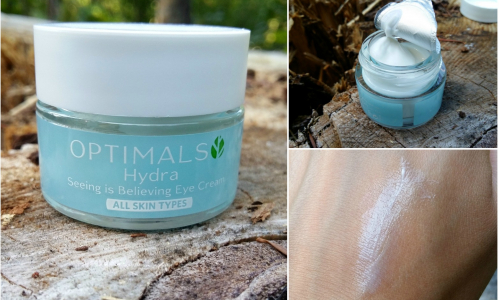 TEST: Oriflame OPTIMALS Hydra Seeing is Believing – očný krém