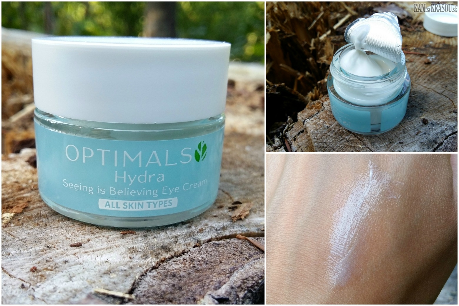 test oriflame otpimals hydra
