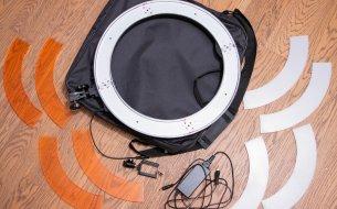 TEST: Kruhové LED svetlo 50W so stmievačom od cvaknito.sk