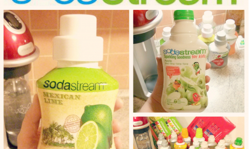 TEST: SodaStream - sirupy