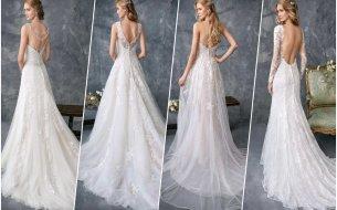 Nadčasové a elegantné svadobné šaty: Nebudeš si vedieť vybrať!