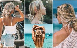Inšpirácia na letné účesy z dlhých vlasov: Buď aj ty štýlová!