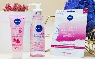 TEST: Nová pleťovka NIVEA - píling, textilná maska a odličovací olej