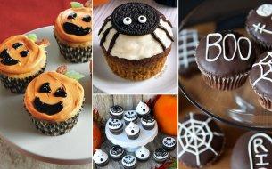 10 nápadov, ako ozdobiť halloweenske muffiny!