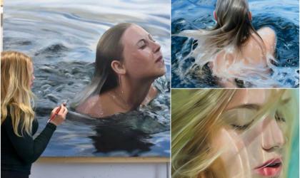 Neuveriteľné: Umelkyňa vytvára realistické obrazy vyzerajúce ako fotografia