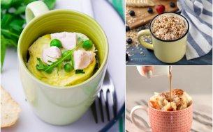 3 recepty na hrnčekové raňajky: Rýchle, jednoduché a hlavne chutné!