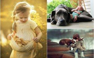 Detské fotky so zvieratami: Nič rozkošnejšie neexistuje!