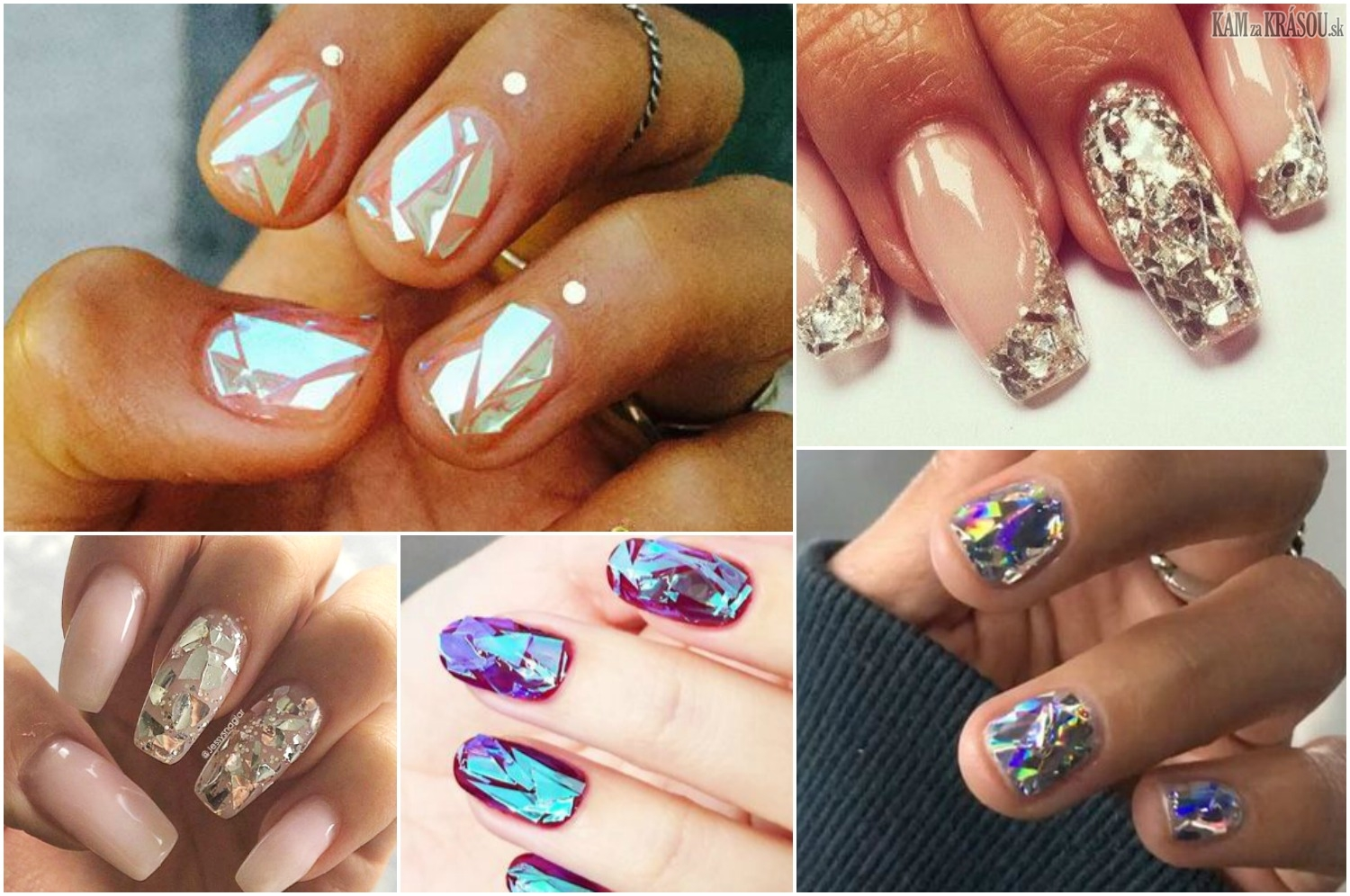 Diamond nails – trend v úprave nechtov