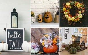 Jesenné dekorácie do domácnosti: Vnes nádych jesene aj do svojho príbytku!