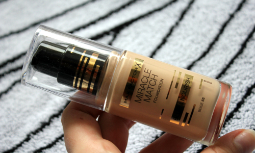 TEST: Max Factor Miracle Match Foundation make-up