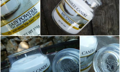 TEST: YANKEE CANDLE - BABY POWDER