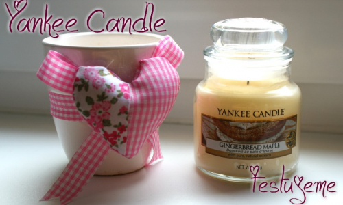 TEST: Yankee Candle - Gingerbread Maple