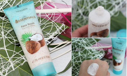 TEST: Oriflame pleťový píling Essentials Coconut Water