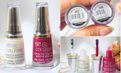 TEST: COLLISTAR Oil Nail Lacquer Mirror Effect - lak na nechty