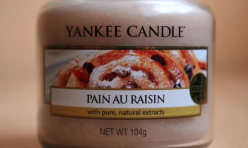 TEST: Yankee Candle vonná sviečka Pain Au Raisin