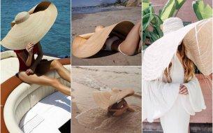 Nadrozmerné plážové klobúky: Letný kúsok, s ktorým na pláži zaujmeš!