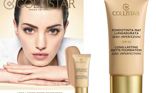 Collistar Long-lasting Matte Foundation Zero Imperfections SPF10