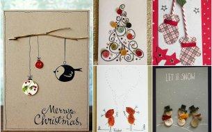 Vianočné pohľadnice: Vyrob si ich jednoducho sama!