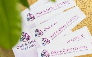 Súťaž o vstupenky na ONE AND ONLY FESTIVAL pre teba a kamarátku