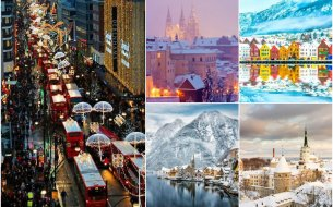 Najkrajšie vianočné mestá: Budeš ich chcieť hneď navštíviť!