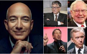 10 najbohatších mužov sveta: Aká je hodnota ich majetku a čím sa živia?