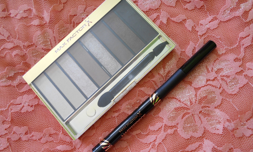 TEST: Max factor - Masterpiece Nude Palette & High Precision Liquid Eyeliner