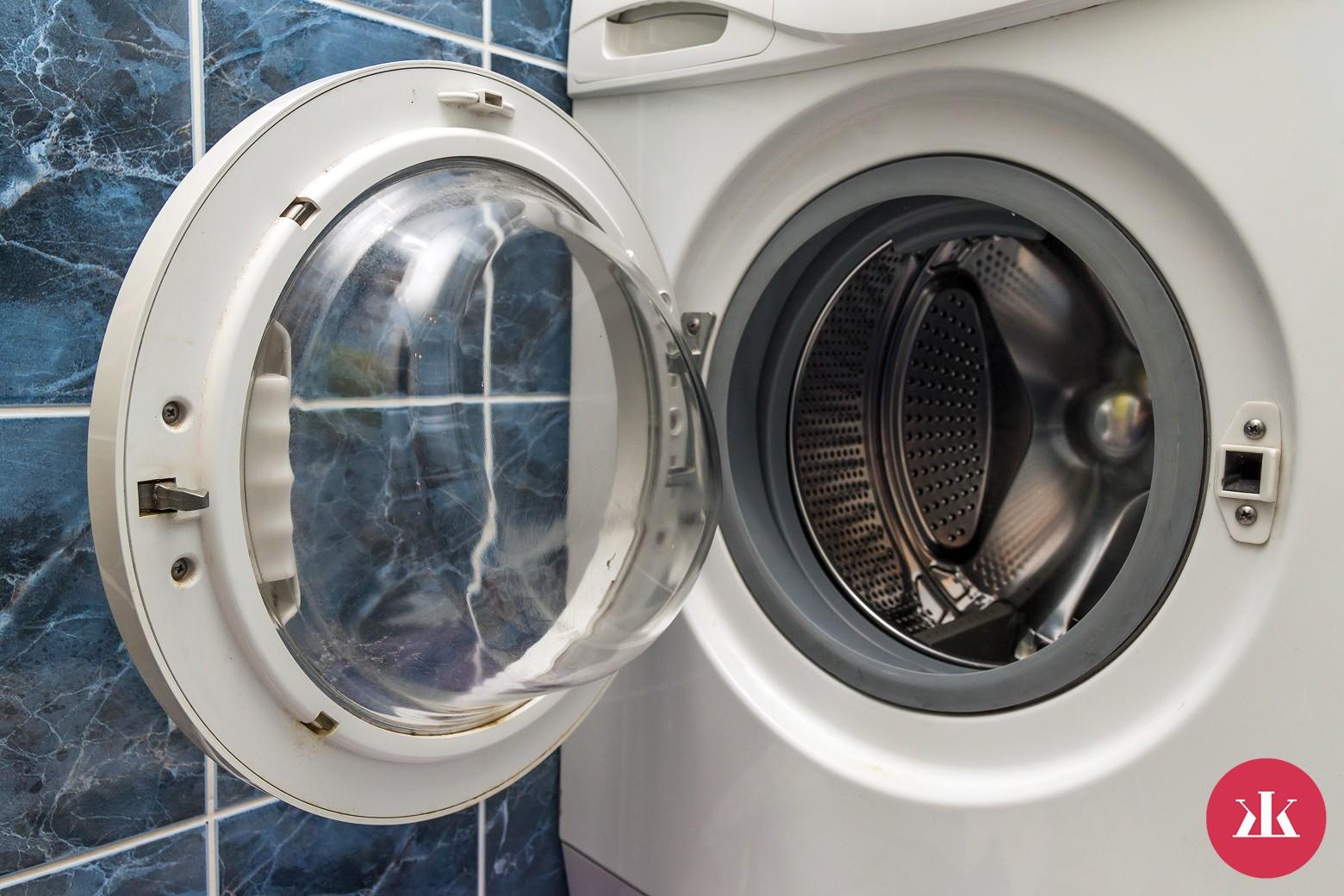 vyčistenie práčky tabletou do umývačky riadu