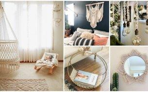 Makramé dekorácie: Nechaj sa inšpirovať našimi skvelými nápadmi!