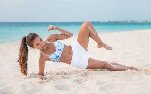 Cviky na šikmé svaly: 10-minútové cvičenie na doma pre každého!