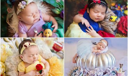 Mini Disney princezné - fotky, ktoré vám vyčaria úsmev na tvári