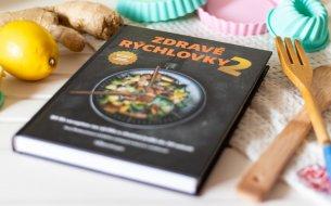 Vyhraj 2x kuchársku knihu ZDRAVÉ RÝCHLOVKY 2 plnú zdravých receptov