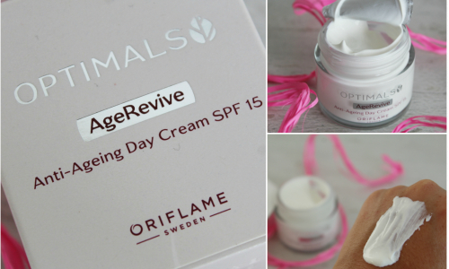 TEST: Oriflame omladzujúci denný krém so SPF 15 Optimals Age Revive