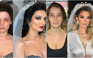 Famózne svadobné líčenie: Neuveriteľné, aká je sila make-upu!