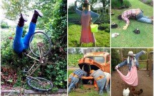 Veselí strašiaci do záhrady: Vyrob si aj ty takého - originálneho!