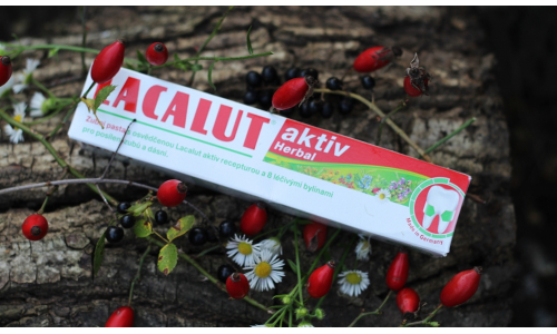 TEST: Lacalut - zubná pasta Aktiv Herbal